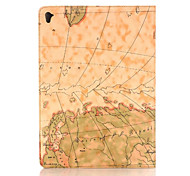 Retro style Map Prints PU leather Flip Hard Cover Tablet Case For iPad Air3 /iPad Pro Mini Smart Stand Protective Case