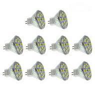 6W GU4(MR11) LED Spotlight 12 SMD 5730 570 lm Warm White / Natural White DC 12 V 10 pcs
