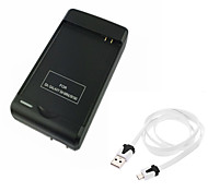 ismartdigi S4mini Battery Charger+USB Cable for Samsung S4mini HTC and other Mobile Devices