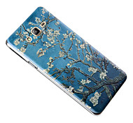 3D Relief Graphic Pattern Fashion Plastic Material Back Cover for Samsung Galaxy On5/Galaxy On7