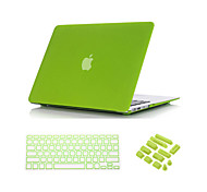 3 in 1 Quicksand Matte Full Body Case  with Keyboard Cover and Dust plug for  MacBook Air 13""