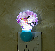 Creative Natural White Shell Light Sensor Relating to Baby Sleep Night Light(Assorted Color)