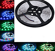 5m hry® SMD 3528 RGB 300 LED de color cambiante luz de tira flexible (dc12v)