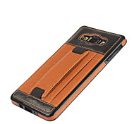 For Samsung Galaxy  A7 A700 Luxury Football Grain Stick To Leather Back Slot Satisfy The Protective Case