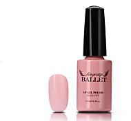 1Pcs UV Gel Nail Polish Long-Lasting Nail Gel Soak-off LED Lamp Fingertip Ballet Gel Polish 12ML 81-90 Colors