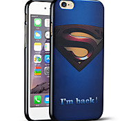 Superman Returns Protective Back Cover Soft iPhone Case for iPhone 6S/iPhone 6