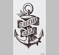 Fashion Tattoo Anchor Waterproof Tattoo Stickers