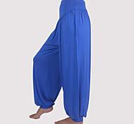 Pantaloni da yoga Pantaloni / Pantalone Traspirante / wicking / Materiali leggeri Cadente Anelastico Abbigliamento sportivo Per donna