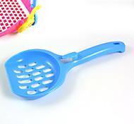 New Hot Sell Pet cleaning supplies Plastic shovel  Small Cat shovel Hang basin kitten shovel