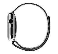 Alça milanese luxo para a pulseira de relógio de maçã 42/38 milímetros (cores sortidas)