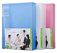 Multifunction Portable Files Folders & Filing for Office 20pages Random Colors