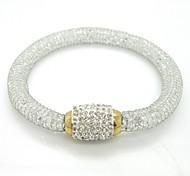 White Full Stone Stardust bracelets