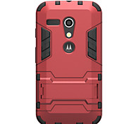 Hybrid Dual Heavy Duty Armor Stand Case for 2014 Motorola New Bike Moto G XT1028/XT1031/XT1032 IDOOLS