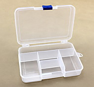 5 Cases Plastic Travel Storage Box