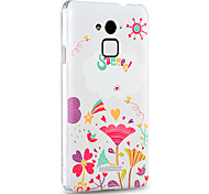 3D Relief Graphic Pattern Fashion PC Material Back Cover for Coolpad Note 3