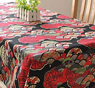 Japanese Style Table Cloth Fashion Hotsale High-grade Cotton Linen Square Coffee Table Cloth Cover Towel