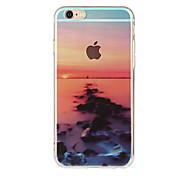 High-Quality Child Beautiful Scenery Can Lanyard Pattern TPU Soft Shell Package For iPhone 6/6s/6 Plus/6s Plus