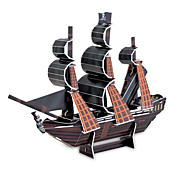 The Black Pearl 3D Puzzles DIY Toys for Children and Adult Jigsaw Puzzle(24PCS)