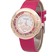 Frauen Uhren Strass Sand Mode Gürtel Borer Quarzuhren