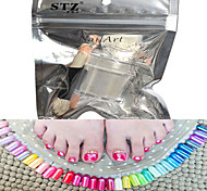 1 Set Nail Art Magical Gold Glitter Pearl Powder And Eye Shadow Brush Set Nail Beauty HCJ