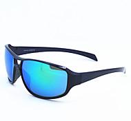 005 Ossat occhiali da sole alla moda occhiali all'aperto vetri di riciclaggio si snodano gli occhiali - blu brillante placcatura pellicola
