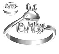 Personalized Gift Rings Unisex Metal Gold / Silver(10 characters limited))