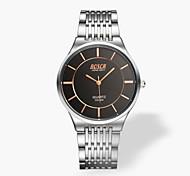 Men's Fashion Slim Stainless Steel Waterproof Quartz Watch Wrist Watch Cool Watch Unique Watch