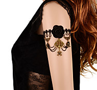 Bracelete Renda Sexy / Moderno Preto Jóias,1pç