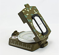 Compasses Pocket / Convenient Hiking / Camping / Travel / Outdoor Alloy Metal Camouflage