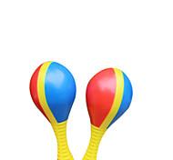 Kunststoff-gelben Sand Hammer für Kinder ab 3 Musikinstrumente Spielzeug