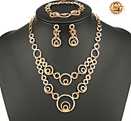 Fashion Women India Style Jewelry Set Four-Piece Suit For Ladies