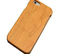 caso ciliegia legno protettiva copertura posteriore dura per il iphone iphone se 5s / iPhone / iPhone 5