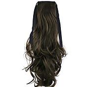 preto Comprimento 50 centímetros venda direta da fábrica ligamento tipo de cabelo rabo de cavalo rabo de cavalo de onda (cor 8-A)