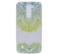 TPU Material Green Mask Pattern Slim Phone Case for LG G5/K7