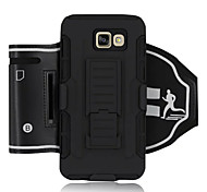 For Samsung Galaxy Note Shockproof / with Stand / Armband Case Armband Case Armor Hard Textile Samsung Note 5 / Note 4 / Note 3