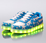 Running Shoes Men's LED Shoes USB charging Outdoor/Athletic/Casual  Fashion Sneakers Blue/Navy