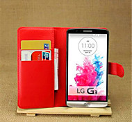 LG G3 PU Leather Back Cover / Cases with Stand Special Design / Novelty case cover