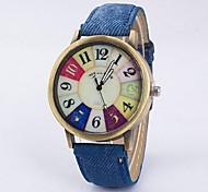Couple's Casual Watch Retro Dial Belt Quartz Watch Fashion Watch Cool Watches Unique Watches