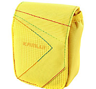 M Size Camera Case for Casio zr1000/zr1200/rx100  8*3.5*10 Yellow
