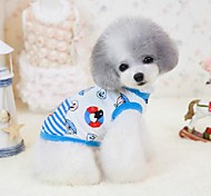 Exquisite Sea Pattern Pet Coat