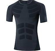 Course Hauts/Tops Homme Respirable / Séchage rapide Course Sportif Vêtements de sport Vêtements de Plein Air / Utilisation / ExerciceVert