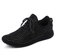 Running Running Shoes Men's Anti-Slip / Wearproof / Zero Wear-in Time / Breathable Coconut Shoes/Yeezy Boost Leisure Sports Gray / Black