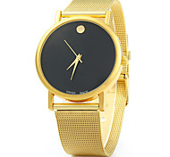 Women Fashion Quartz Analog Wrist Watch with Alloy Strap Assorted Colors