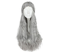 Cosplay Wigs Super Heroes Movie Cosplay Silver Solid Wig Halloween / Christmas / New Year Female