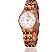 Women's Fashion Watch Quartz Casual Watch Alloy Band Rose Gold