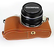 bolsa de color marrón SLR para Olympus