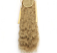 Green Deep Wave Lace Wig Corn Hot Ponytails 16