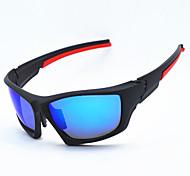 99.522 sabbia pellicola blu scuro placcati occhiali polarizzati occhiali vento all'aperto vetri di riciclaggio