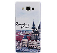 PC Cartoon Relief Protection Cover for Samsung A7