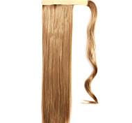 коричневый прямые смешивая прямые волосы парик хвостики 10/613